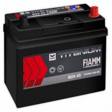 Аккумулятор FIAMM Black Titanium 45Ah EN 360A R+ Asia