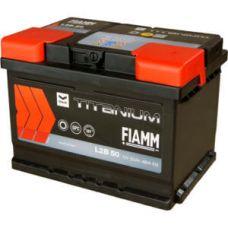 Аккумулятор FIAMM Black Titanium 50Ah EN 480A R+