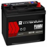 Аккумулятор FIAMM Black Titanium 60Ah EN 540A R+ Asia