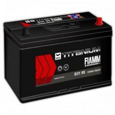 Аккумулятор FIAMM Black Titanium 95Ah EN 760A L+ Asia