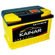 Аккумулятор Kainar Standart+ 75Ah EN 690A L+