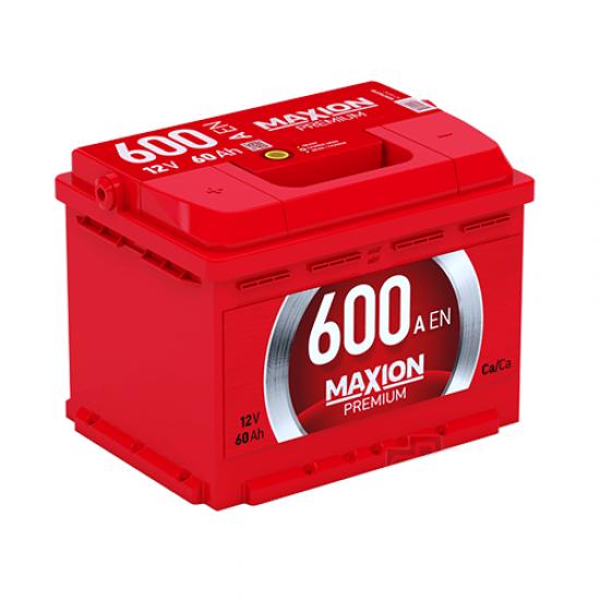 Аккумулятор MAXION PREMIUM 6СТ-60 А2