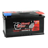 Аккумулятор NORD STAR ECONOMY 100Ah 820A R+