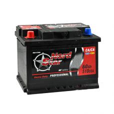 Аккумулятор NORD STAR ECONOMY 60Ah 510A L+