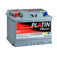 Аккумулятор PLATIN Classic 60Ah EN 600A L+