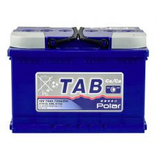 Аккумулятор TAB Polar Blue 6CT-75Ah 750A R+