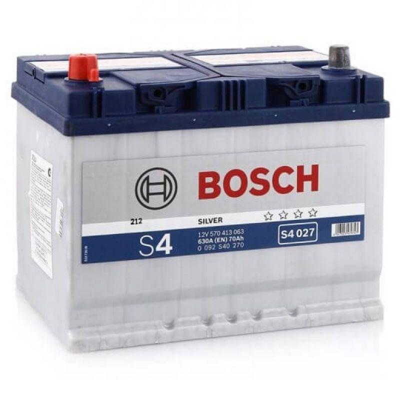 Аккумулятор Bosch S4 Silver 70Ah 630A L+ (S4 027)