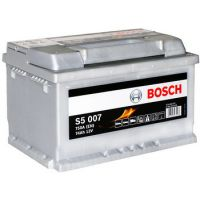Аккумулятор Bosch S5 Silver Plus 74Ah 750A R+ (S5 007)