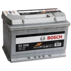 Аккумулятор Bosch S5 Silver Plus 77Ah 780A R+ (S5 008)