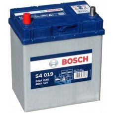 Аккумулятор Bosch S4 Silver 40Ah 330A L+ (S4 019)