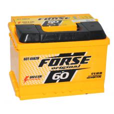 Аккумулятор Forse Original 6СТ-60Ah 600A R+
