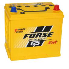 Аккумулятор Forse JP 6СТ-65Ah 650A R+ Asia