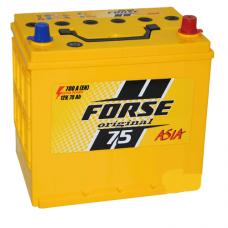 Аккумулятор Forse JP 6СТ-75Ah 700A R+ Asia