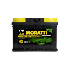 Аккумулятор MORATTI kamina 62Ah 610A L+
