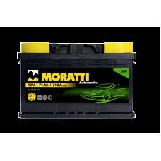 Аккумулятор MORATTI kamina 71Ah 710A R+