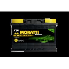 Аккумулятор MORATTI kamina 75Ah 750A R+