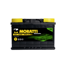 Аккумулятор MORATTI kamina 75Ah 750A L+