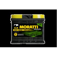 Аккумулятор MORATTI kamina 55Ah 550A R+