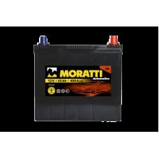 Аккумулятор MORATTI JIS 45Ah 400A L+ Asia