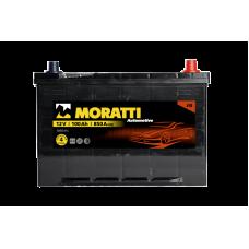 Аккумулятор MORATTI JIS 100Ah 850A R+ Asia