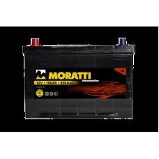 Аккумулятор MORATTI JIS 100Ah 850A L+ Asia